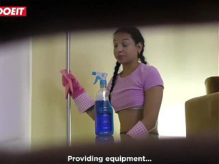 Colombian Squirting Maid Matilde Ramos Cleans Up - LETSDOEIT