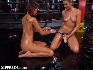 RocoSiffredi Hardcore Squirting Sex Fight On The Ring Between Veronica Leal And Cherry Kiss