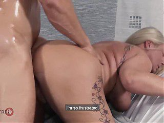 HITZEFREI My step aunt begs me to fuck her!