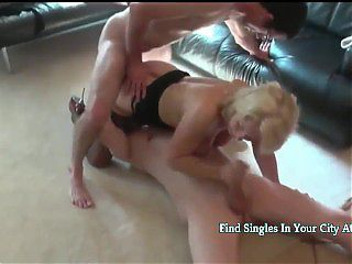 Big Titted Swiss Mature Still Likes To Be Fucked By Two Young Boys