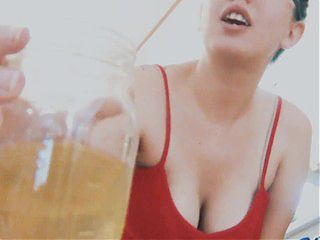 Piss Jar in your Mouth Toilet Slave - Flawless Melissa
