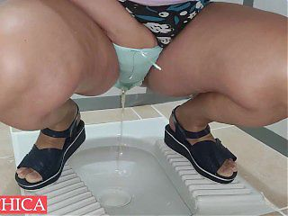 Consequences if she pee panties... wow!